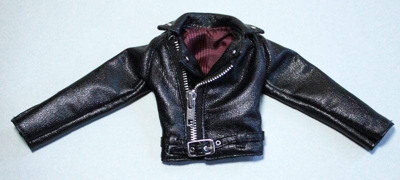 HS ライダースジャケット黒 /テヤンサイズto015