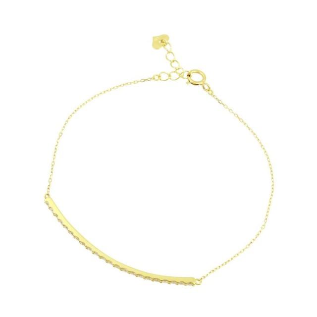 ブレスレットレディースK18ダイヤモンドラインララクリスティーorderHighjewelry
