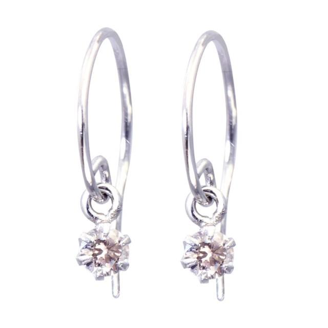 PT900ダイヤモンドフックピアスレディースピアスララクリスティーorderHighjewelry