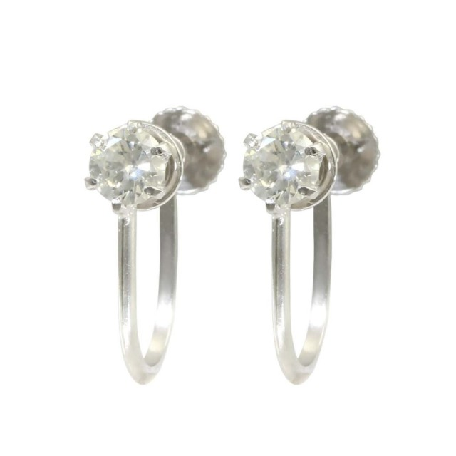 イヤリングレディースPt999/Pt900ダイヤモンドララクリスティーorderHighjewelry