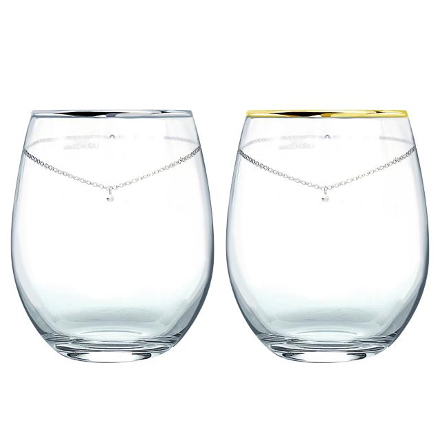 ペアグラスセットスワロフスキー・クリスタル使用の商品画像