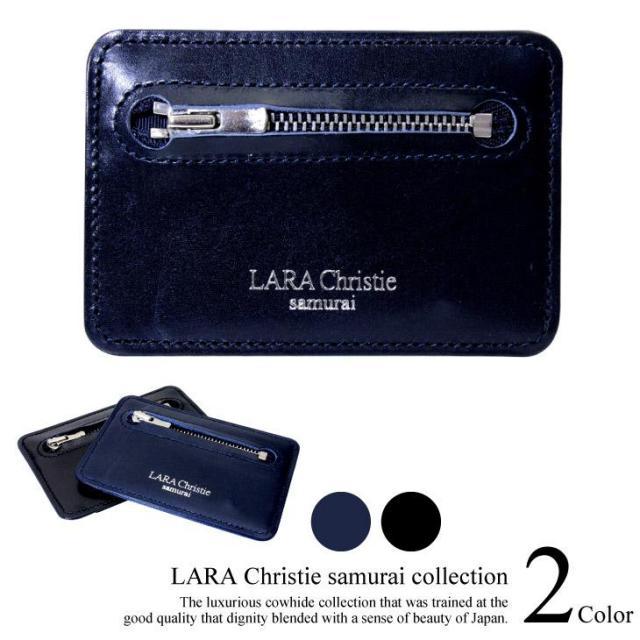 LARA Christie (ララクリスティー) samurai パスケース (コインケース) ll74-0009