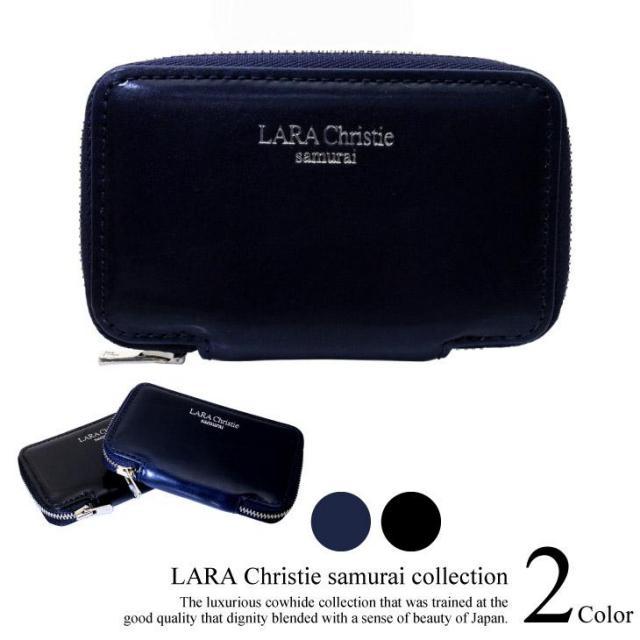 LARA Christie (ララクリスティー) samurai ラウンドジップ 4連キーケース ll74-0010