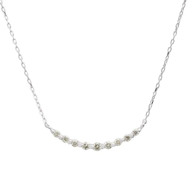 ネックレスレディースPT900ダイヤモンドラインララクリスティーorderHighjewelry