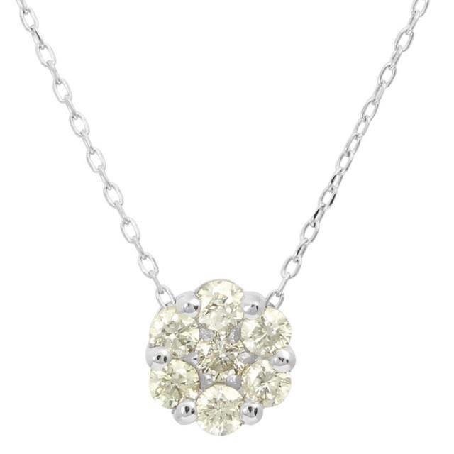 ネックレスレディースPT900ダイヤモンドセブンストーンララクリスティーorderHighjewelry