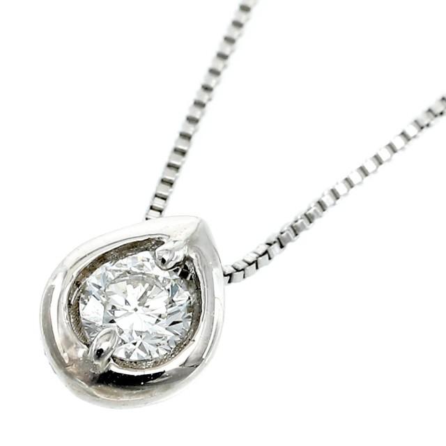PT900ダイヤモンドネックレス1粒レディースララクリスティーorderHighjewelry