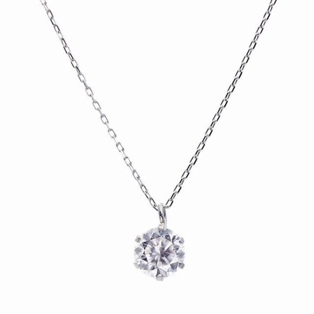 ダイヤモンド ネックレス ソリティア 0.3ct 1粒