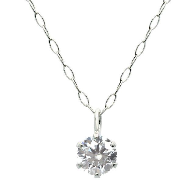 プラチナ ダイヤモンド ネックレス 0.2ct PT900 プラチナ