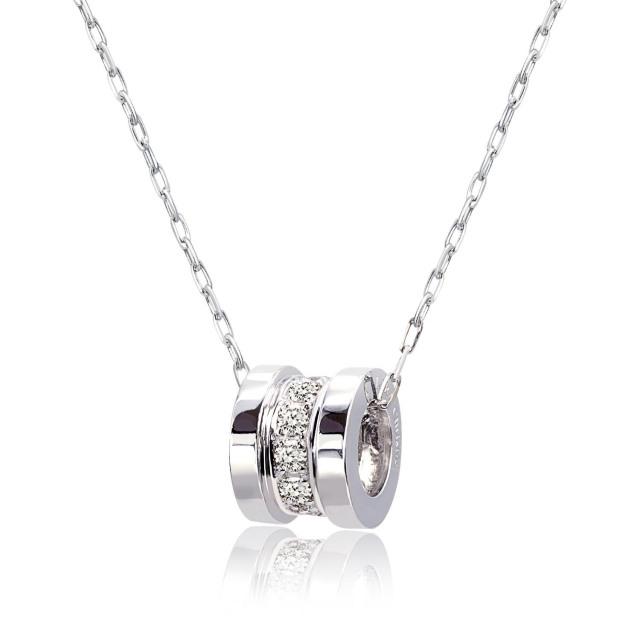 ララクリスティー プラチナ エタニティ ネックレス ダイヤモンド
