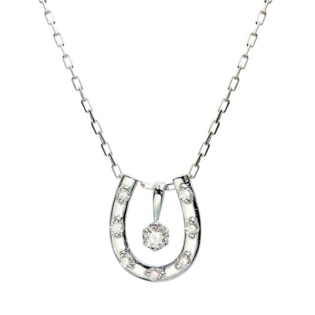 プラチナ 3WAY ダイヤモンド ネックレス 0.1ct PT900 lp71-0023-pt ララクリスティー