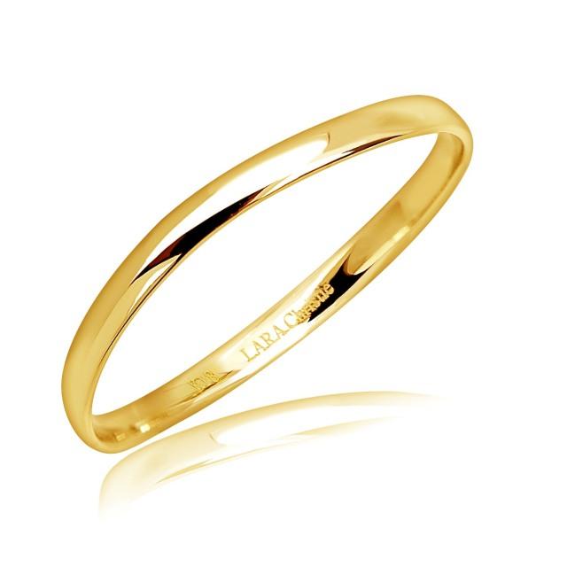 イエローゴールド リング 指輪 エターナルマリッジ K18YG