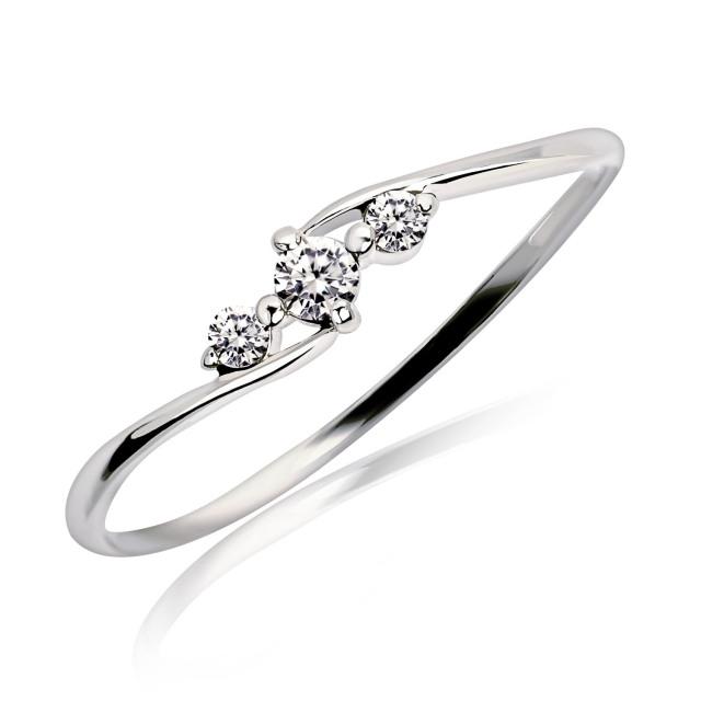 ダイヤモンドリング 指輪 0.1ct エターナル エンゲージ プラチナPt900