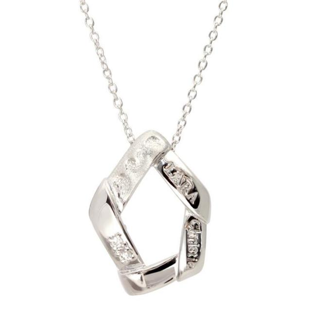 LARA Christie (ララクリスティー) リンケージ ネックレス [ WHITE Label ] シルバー ネックレス レディース p4483-w