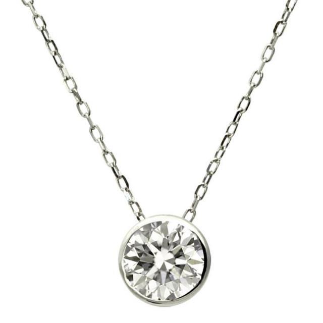 ララクリスティー ダイヤ 0.3ct 1粒 ネックレス K18
