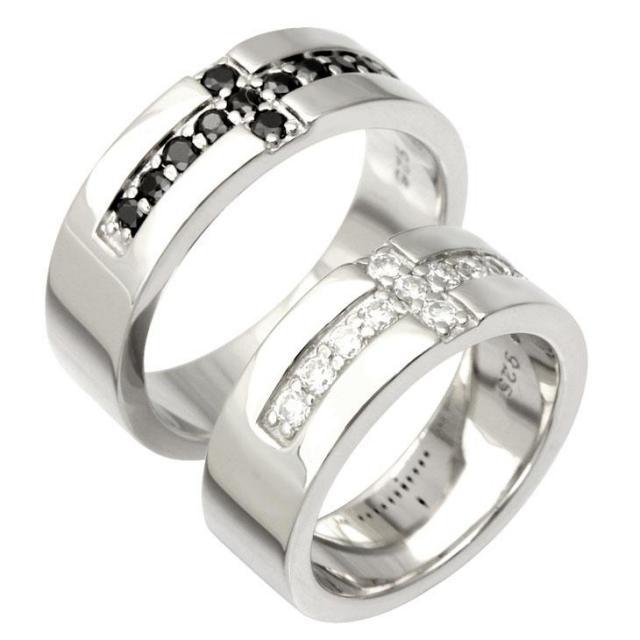 LARA Christie (ララクリスティー) ロイヤル クロス ペアリング [ PAIR Label ] シルバー ペアリング 指輪 r3116-p