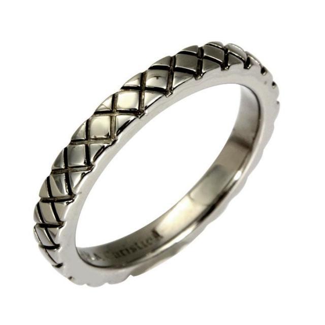ララクリスティー スノーブラスト リング 指輪 メンズ