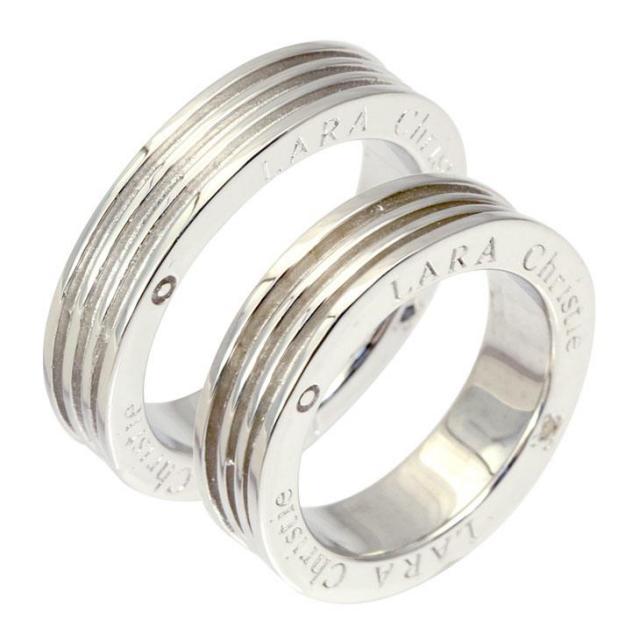 LARA Christie (ララクリスティー) ヴォヤージュ ペアリング [ PAIR Label ] シルバー ペアリング 指輪 r3887-p