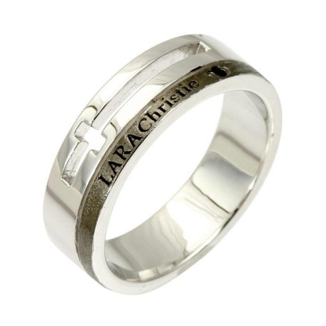 ララクリスティー ウィッシュ クロス リング 指輪 メンズ