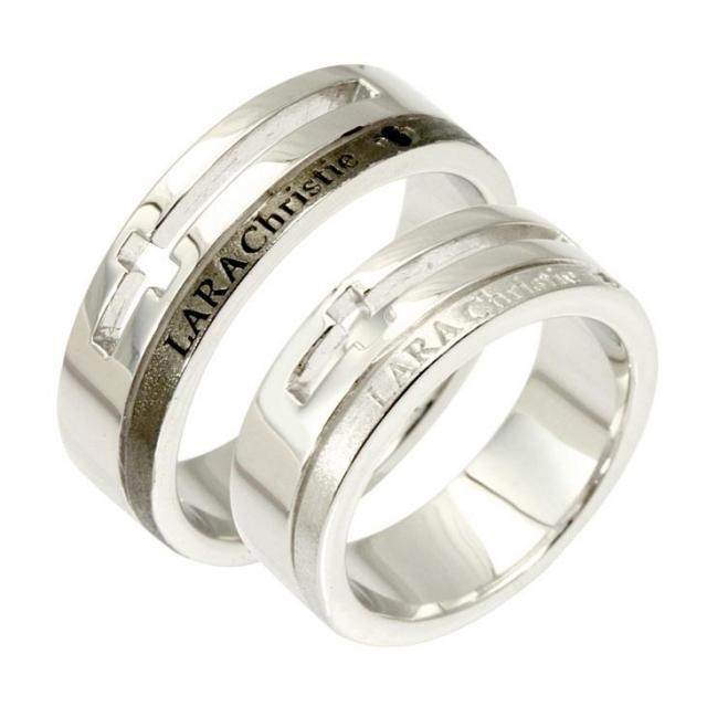 ウィッシュクロスペアリング指輪の商品画像