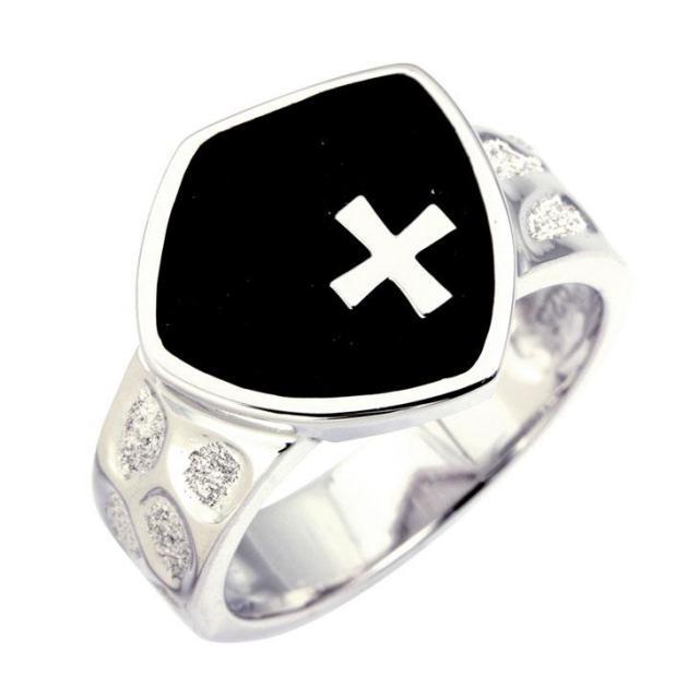 ララクリスティー ノーザン クロス リング 指輪 メンズ