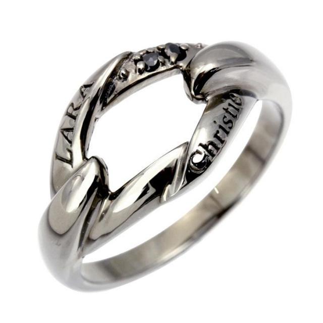 ララクリスティー リンケージ リング 指輪 メンズ
