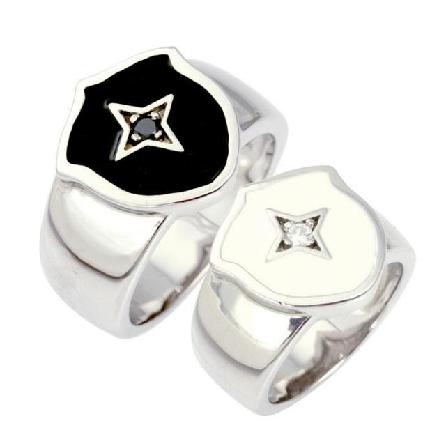 LARA Christie (ララクリスティー) サザン クロス ペアリング [ PAIR Label ] シルバー ペアリング 指輪 r4485-p