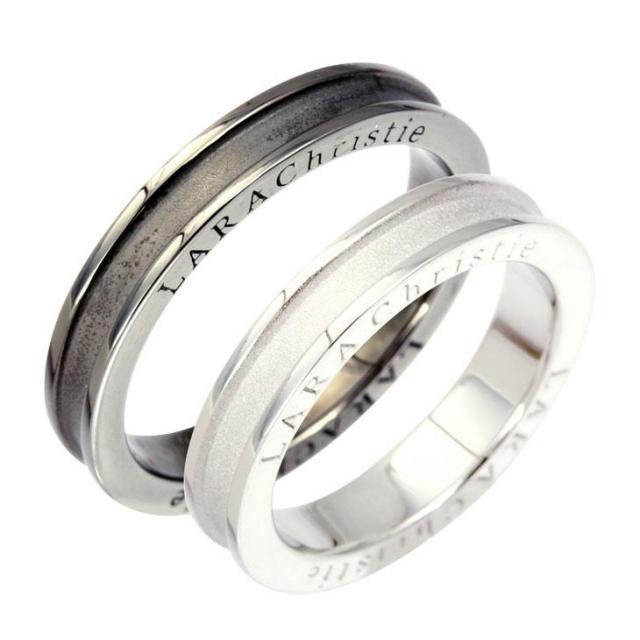 LARA Christie (ララクリスティー) ネーヴェ ペアリング [ PAIR Label ] シルバー ペアリング 指輪 r5904-p