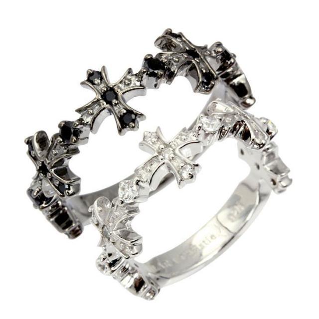 LARA Christie (ララクリスティー) アントワープ クロス ペアリング [ PAIR Label ] シルバー ペアリング 指輪 r5905-p