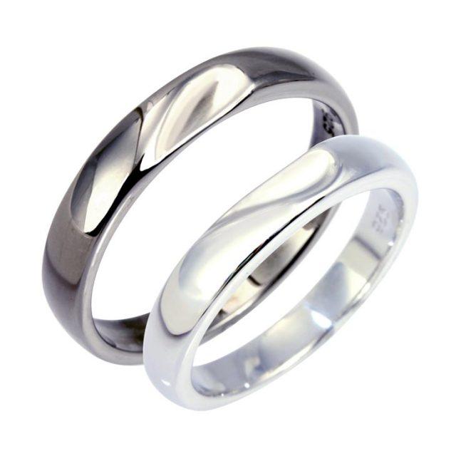 LARA Christie (ララクリスティー) フルート ペアリング [ PAIR Label ] シルバー ペアリング 指輪 r5907-p