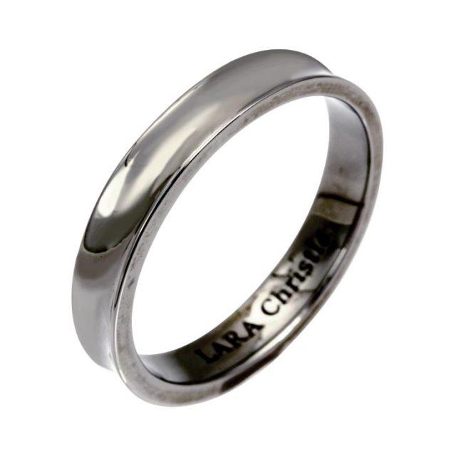 LARA Christie (ララクリスティー) ダカーポ リング [ BLACK Label ] シルバー リング 指輪 メンズ r6024-b