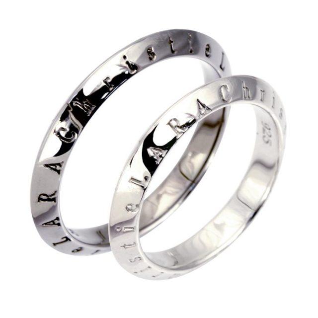 LARA Christie (ララクリスティー) ローラシア ペアリング [ PAIR Label ] シルバー ペアリング 指輪 r6025-p