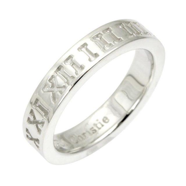 LARA Christie (ララクリスティー) オルロージュ リング [ WHITE Label ] シルバー リング 指輪 レディース r6029-w