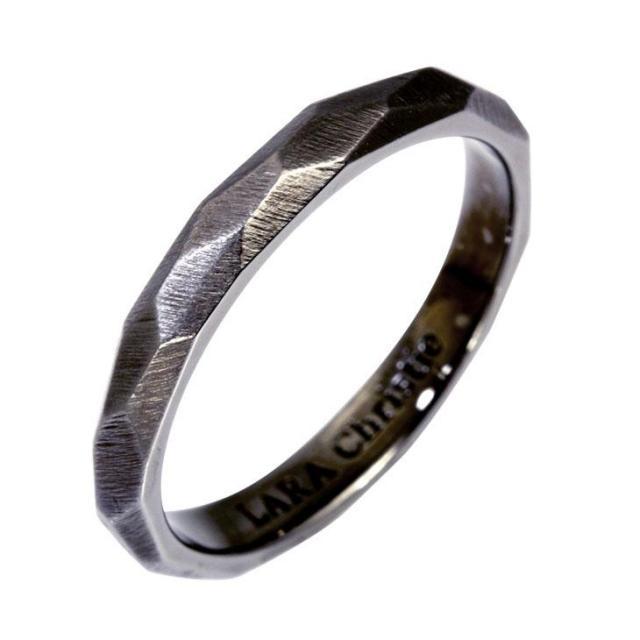 LARA Christie (ララクリスティー) ネイキッド リング [ BLACK Label ] シルバー リング 指輪 メンズ r6032-b