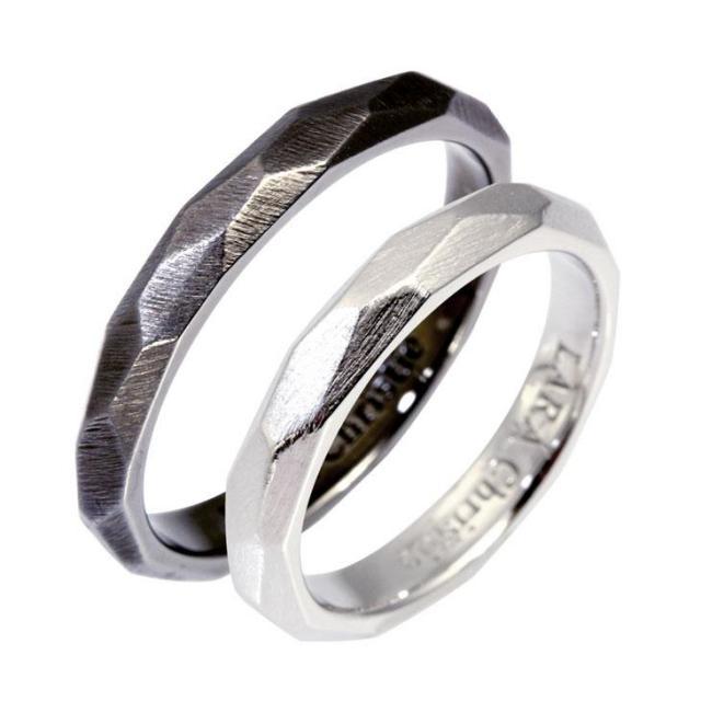 LARA Christie (ララクリスティー) ネイキッド ペアリング [ PAIR Label ] シルバー ペアリング 指輪 r6032-p