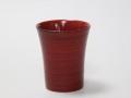 木製 糸筋ビールカップ 根来