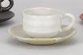 白柚子ゆったりコーヒー碗皿