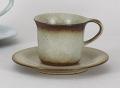 フローラ備前コーヒー碗皿