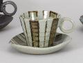 茶太十草コーヒー碗皿