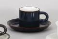 ナマコ切立コーヒー碗皿