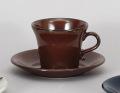 DS-561鉄赤コーヒー碗皿