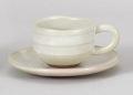 白柚子ゆったりデミタスコーヒー碗皿