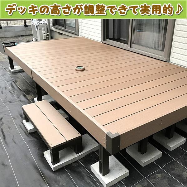 人工木ウッドデッキ(オープンタイプ)