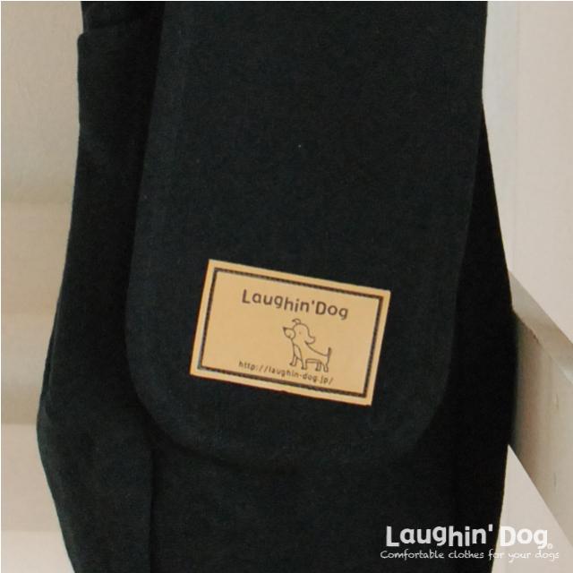 Laughin' Dog ラフィンドッグ カンガルーキャリーバッグ BLACK