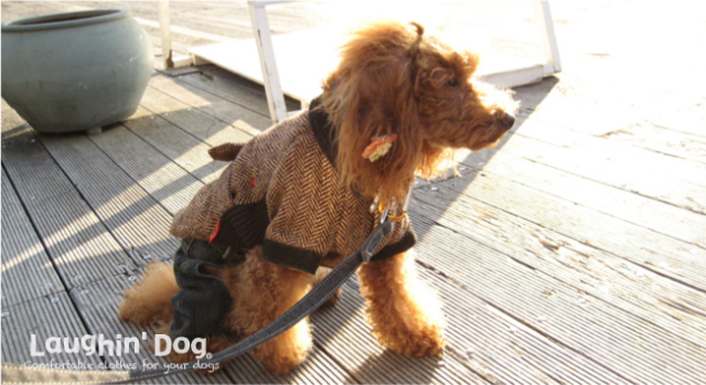 Laughin' Dog ラフィンドッグウールコート