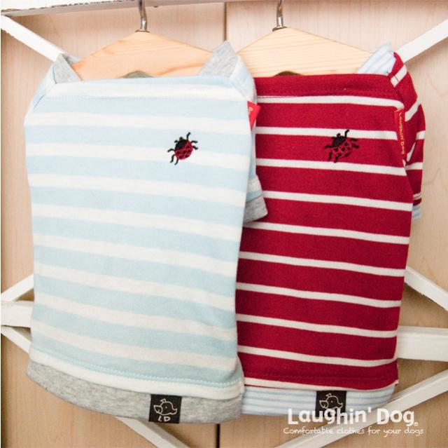 ラフィンドッグ てんとう虫バスクシャツ