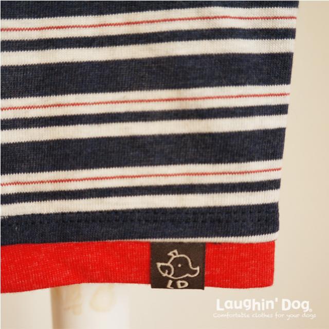 ラフィンドッグ てんとう虫バスクシャツマルチボーダー