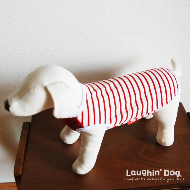 Laughin' Dog ラフィンドッグ 接触冷感素材のスターワンタンクトップ
