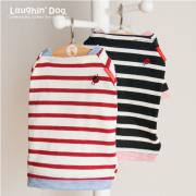 【ウエア】人気の定番 てんとう虫バスクシャツ 小型犬サイズ
