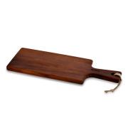 LAVA 木製(イロコ材)カッティングボード サービングボード 16×46cm LVAS294IR