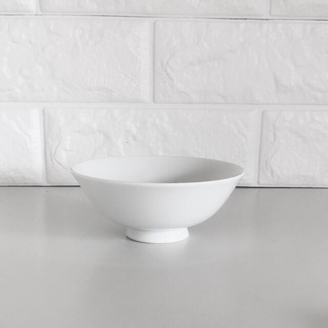 真っ白なご飯茶碗 小 ライスボウル